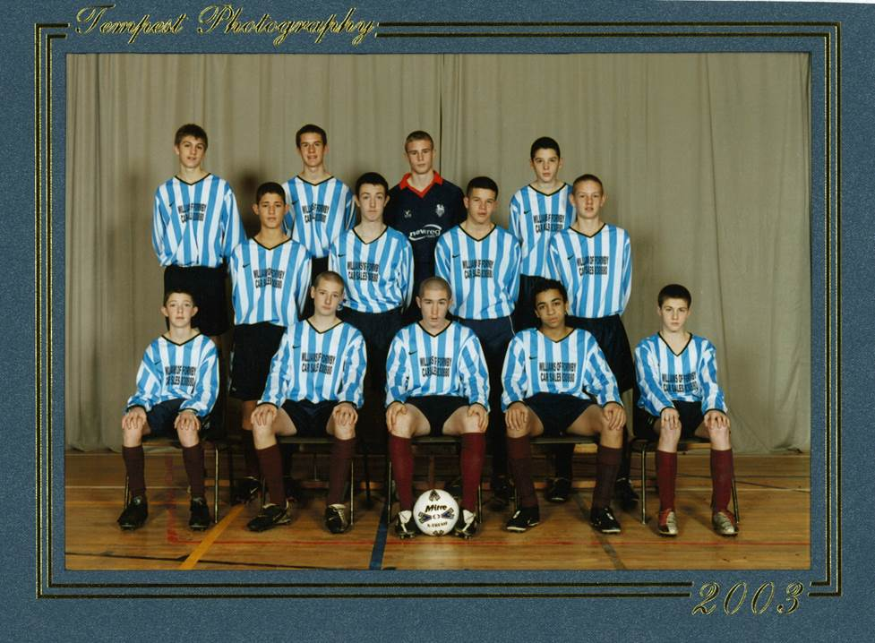Football Team - 2003