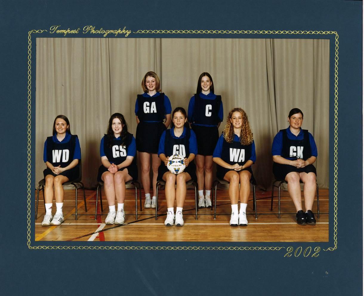 Girls Netball 2002