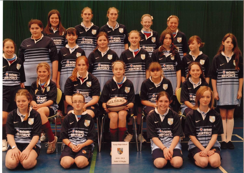 Under 15 Girls Rugby Team 2010-11
