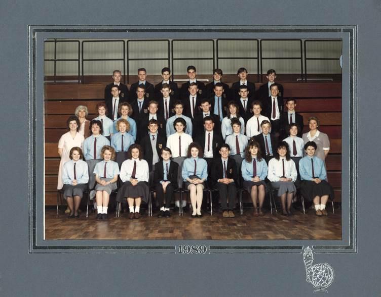 Weld House - Year 11 - 1990